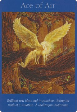 Card Images from the Angel Tarot Cards