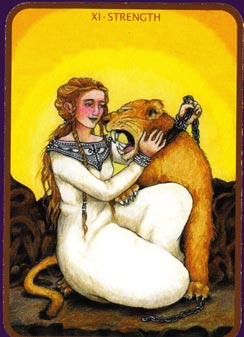 Anna K Tarot Strength Card