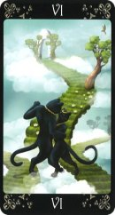 Cards from Black Cats Tarot