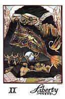 Cards from William Blake Tarot of the Creative Imagination