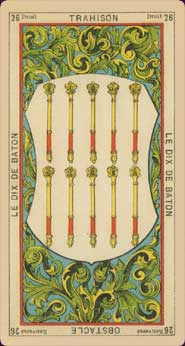 Book of Thoth Etteilla Tarot