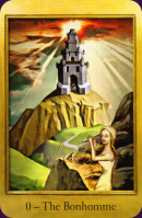 Cards from Cathar Tarot
