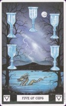 Cards from Dragon Tarot