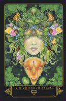 Cards from Dreams of Gaia Tarot