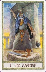 Druidcraft Tarot Magician Card