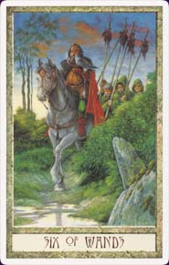 Druidcraft Six of Wands