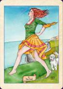 Cards from Fellowship of the Fool Tarot