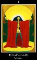 Cards from Glastonbury Tarot