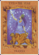 Cards from Goddess Tarot