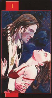 Card Images From The Gothic Tarot Of Vampires