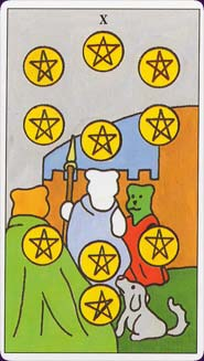 Gummibear Tarot Ten of Pentacles