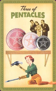 Housewives Tarot Three of Pentacles