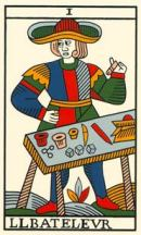 Cards from Jean Noblet Tarot