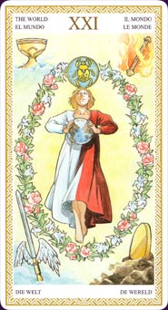 Lo Scarabeo Tarot World Card