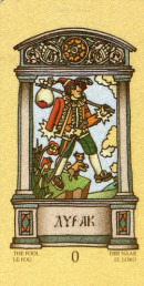 Cards from Magic Slavonic Tarot