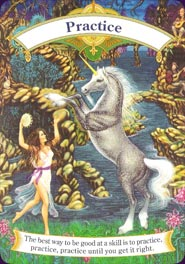 Magical Unicorns Oracle House Of Cards