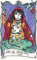 Cards from Minute Tarot