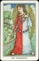 Cards from Medieval Enchantment: Nigel Jackson Tarot