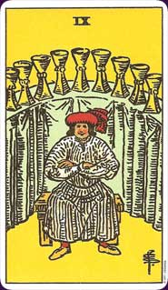 Rider-Waite Tarot Nine of Cups
