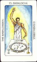 Cards from Tarot of the Orishas
