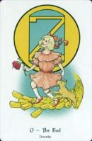Cards from Tarot of Oz