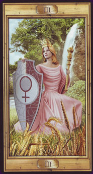 Pictorial Key Tarot Empress Card