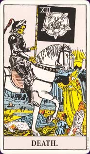 Rider-Waite Tarot Death Card