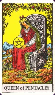Queen of Pentacles