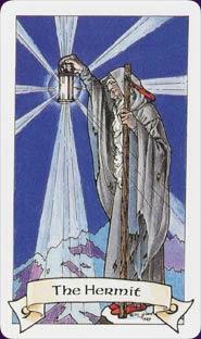 Robin Wood Tarot Hermit Card