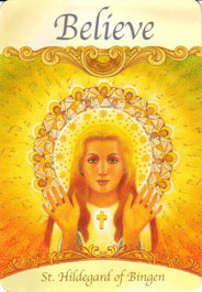 Card images from the saints amp angels oracle cards