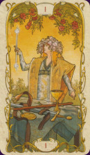Cards from Tarot Mucha