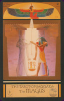 Cards from Tarot of Saqqara