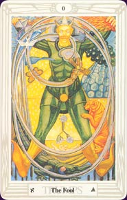 Aleister Crowley Thoth Tarot Pocket Edition