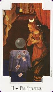 Transformational Tarot High Priestess Card