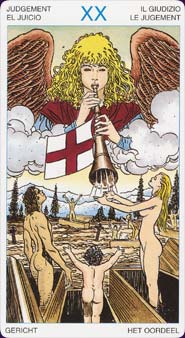 Universal Tarot Judgement Card