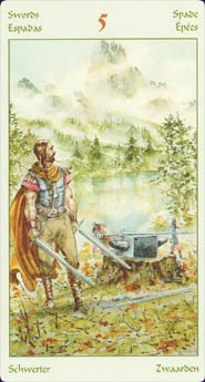 Vikings Tarot Five of Swords
