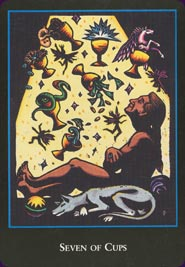 World Spirit Tarot Seven of Cups