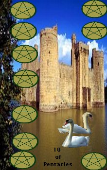 Ten of Pentacles : First Aeclectic Community Tarot