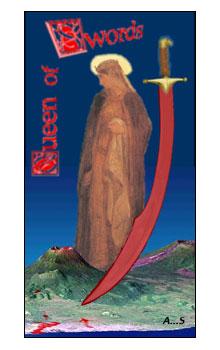 Queen of Swords : Second Aeclectic Community Tarot