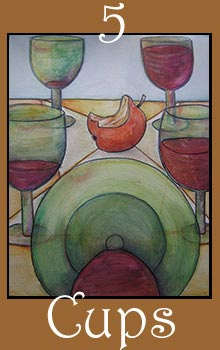 Cards from Five of Cups