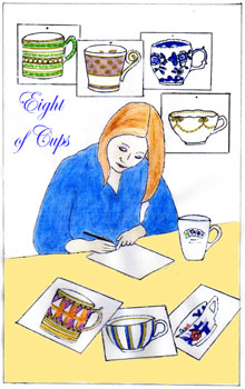Cards from Eight of Cups
